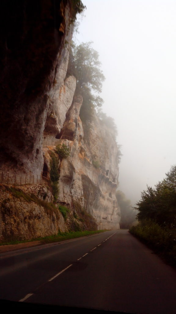 Early morning to the caves